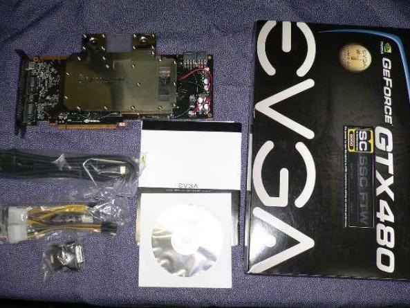 EVGA GTX480SC