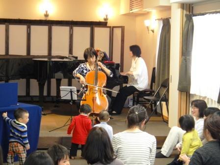 チェロ演奏