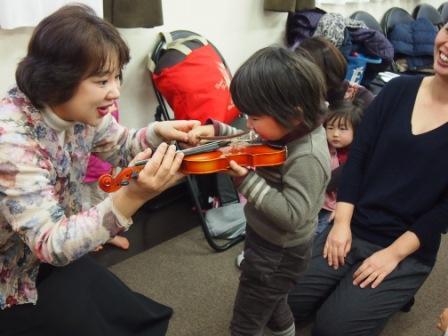 ちょこっとヴァイオリン体験