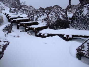 雪の大浪池 027 - コピー