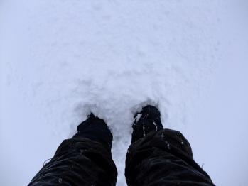 雪の大浪池 026 - コピー