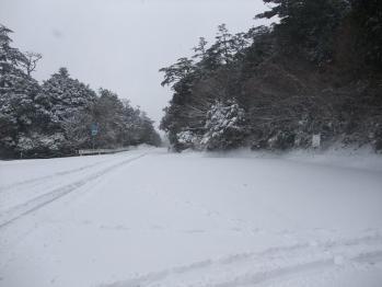 雪の大浪池 015
