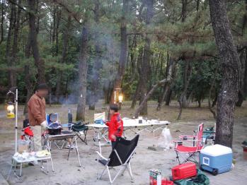 くにの松原キャンプ場 129 - コピー