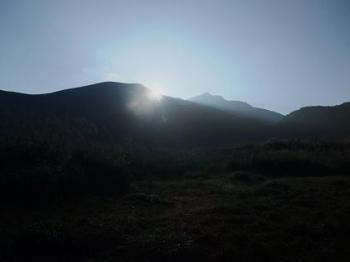 坊がつる、中岳 064