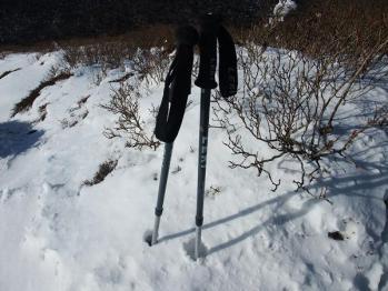 雪の韓国岳 063