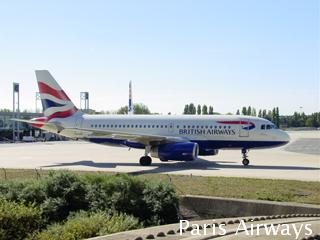 British Airways CDG