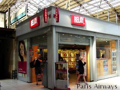 relay キオスク パリ