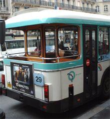 29系統 パリのバス 展望デッキ