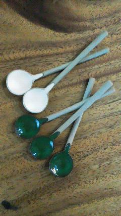 陶器スプーン