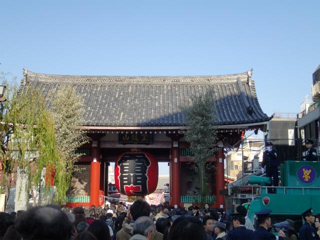 浅草寺2014年