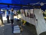 18回県民小牧平和集会の原水禁展示