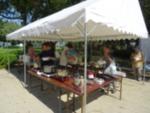18回県民小牧平和集会平和委員会コーヒー・すいとん販売コーナー
