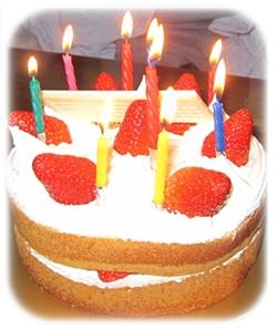 感謝の誕生日