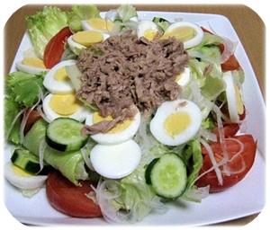 ツナ&野菜サラダ