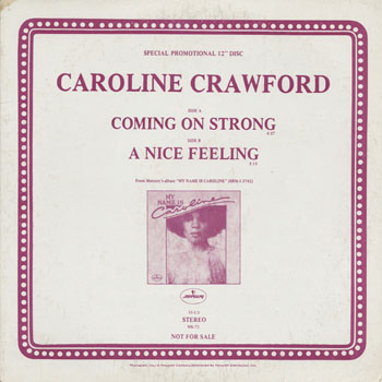 DG_CAROLINE CRAWFORD_COMING ON STRONG_201312