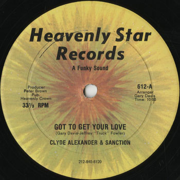 DG_CLYDE ALEXANDER  SANCTION_GOT TO GET YOUR LOVE_201312