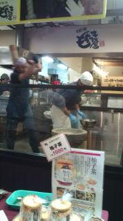 餅つきin錦市場