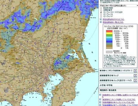 東日本農地土壌緯度経度マップ4
