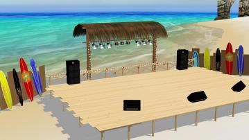 海辺ステージ