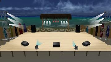 夜の海辺ステージ02