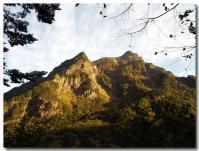 朝焼けの山-1-