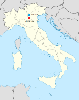 Mappa Mantova