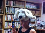ティッシュ犬とまほちゃん