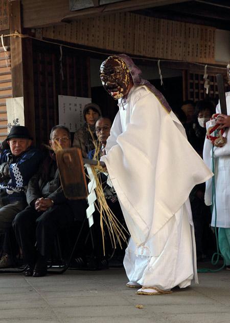 植槻八幡神社 おんだ祭2