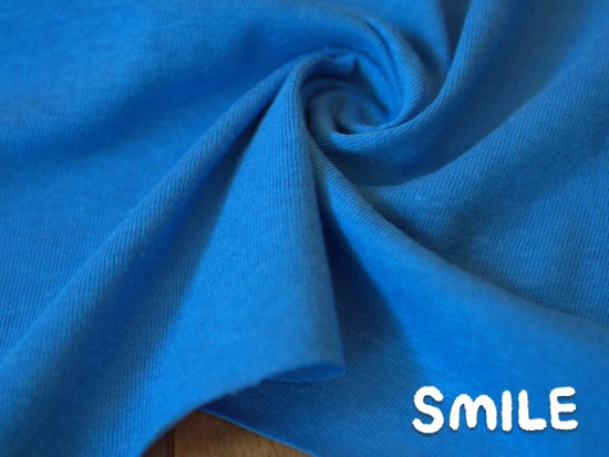 ラフィー天竺ブルー2