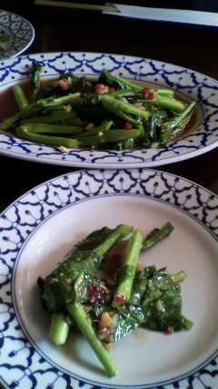 ライカノ タイ野菜の炒め