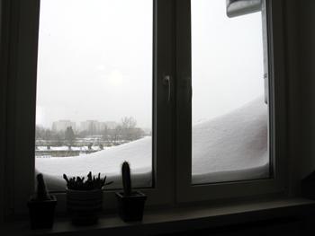 ワルシャワ 大雪