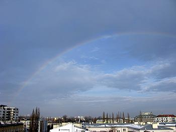 ワルシャワ 虹
