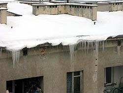 ワルシャワ 積雪