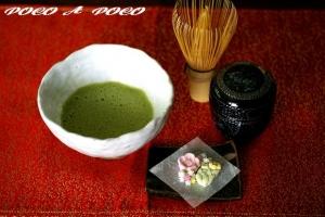 お抹茶&お干菓子