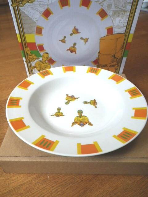 トニオさんのパスタ皿