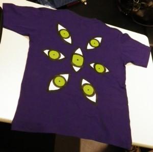 ザ・グレイトフル・デッドTシャツ背面