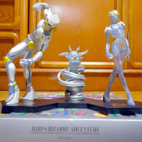 ジョジョ一番くじ「アニバーサリーフィギュア」×3