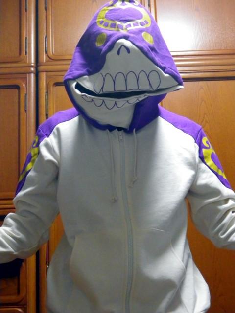 ジョジョの奇妙な冒険 原画展記念 クリームパーカー 着衣