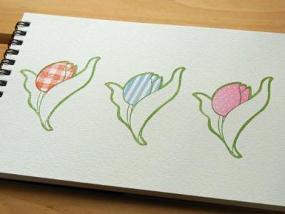 チューリップ3種類