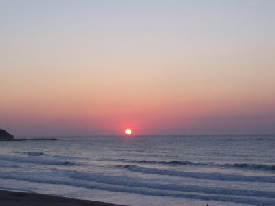 御宿海岸 日の出