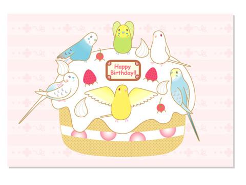 バースデーケーキ/セキセイA