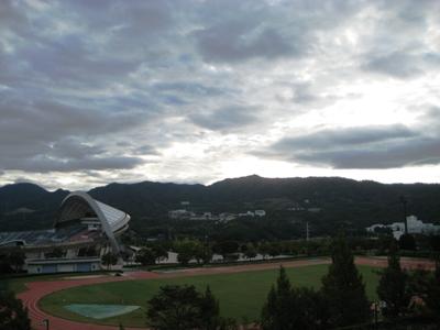 朝・広域公園