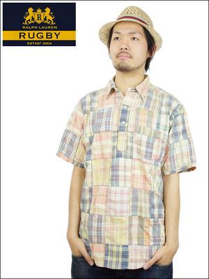 RL パッチワークシャツ