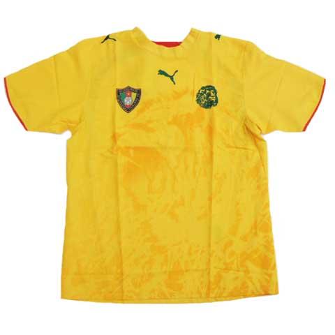 2006 カメルーン代表 Away