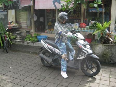 バイク練習