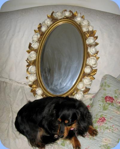 004 rose mirror