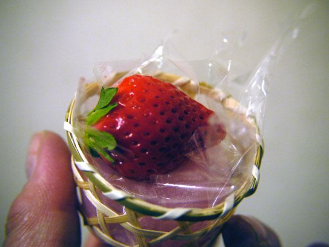 苺羽二重餅