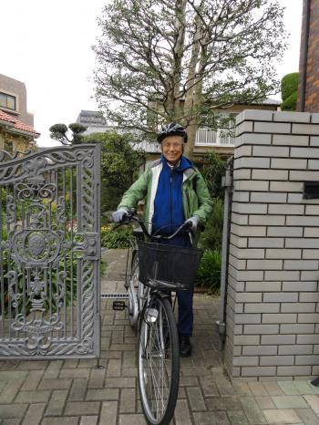 ケイトさん自転車