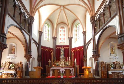 今村教会祭壇