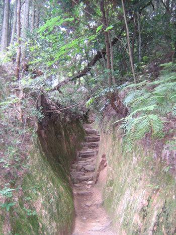 宝満山登山道1